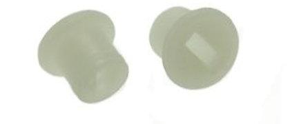 Coppia boccole sportello cofano laterale Vespa 50-125