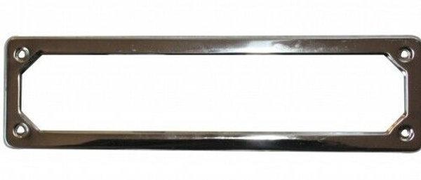 Cornice targa anteriore acciaio inox Fiat 500 F L R D