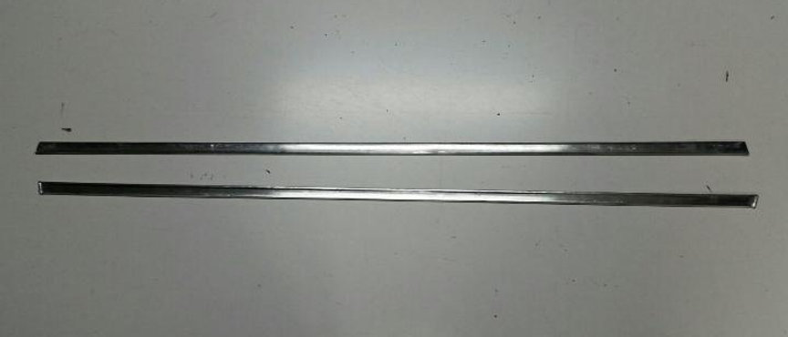 Coppia modanature sottoporta in acciaio Fiat 500 F L R