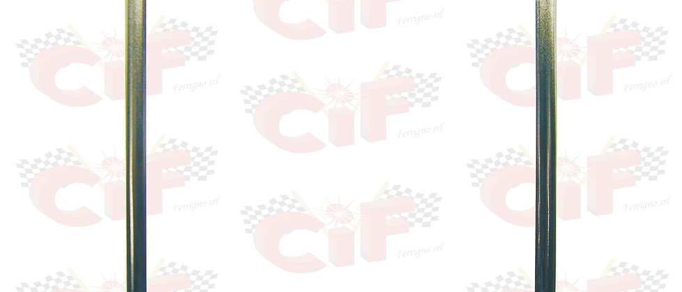 Cornice targa in ferro cromata 170X170