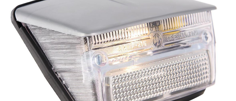 Fanale stop posteriore bianco tettuccio grigio Vespa 50 Special