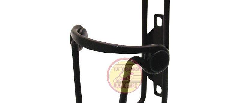 Portaborraccia in alluminio Bici nero - ø 6mm