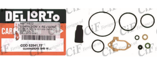 Kit revisione carburatore SHB 16 Vespa