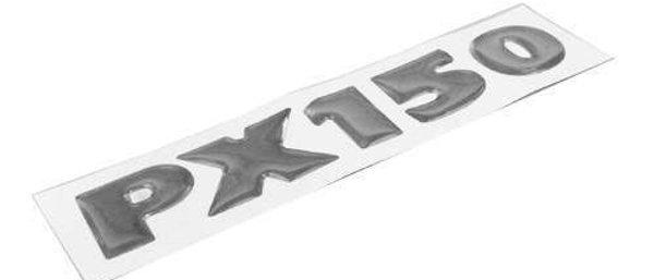 Targhetta resinata tasca laterale Vespa PX150