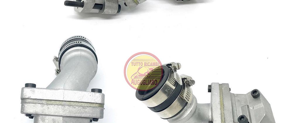 Collettore aspirazione lamellare VMC 2 fori carburatore 24/28 Vespa 50 - 125 ET3