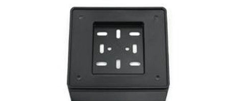 Porta targa nero in plastica Scooter - Vespa 50