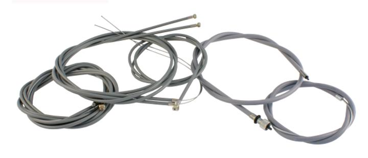Kit trasmissione cavi in teflon grigie Vespa 50