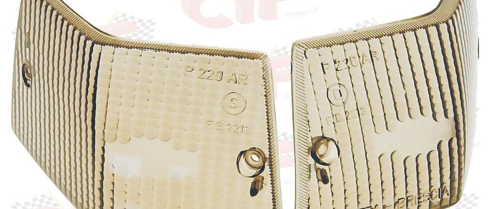 Coppia plastiche frecce posteriori fume' Vespa PX LML 125-150-200