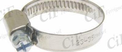 Fascetta in acciaio inox banda 9mm diametro utilizzo 23-35mm