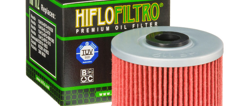 Filtro olio HF112 Honda - Kawasaki