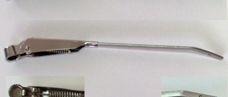 Coppia bracci tergicristalli Fiat 500 F L attacco grande