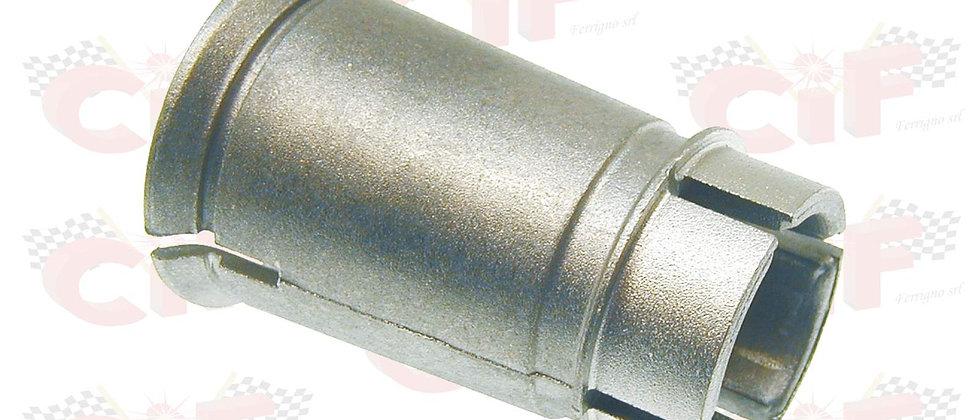Bocchettone raccordo in alluminio carburatore 19/19 Vespa 50 - 125 ET3