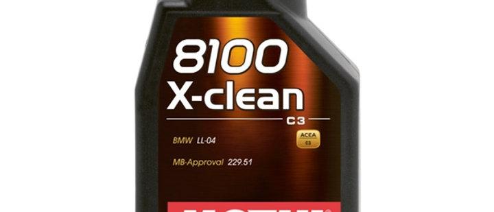 Olio motul 8100 X-Clean 5W30 per auto