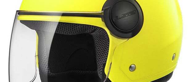 Casco LS2 AirFlow giallo fluo taglia XL