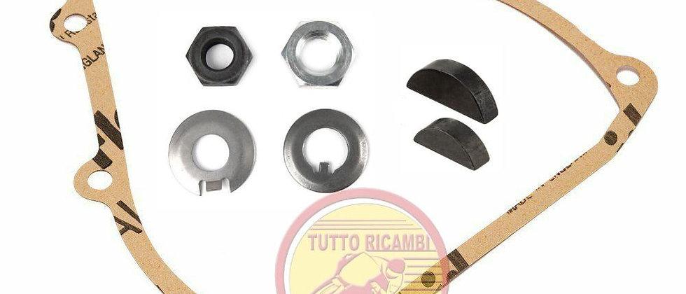 Kit dadi rondelle chiavette frizione/pignone Vespa 50 Special L N R 125 ET3 PK
