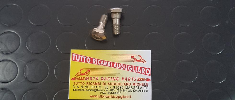 Coppia perni fissaggio capottina Fiat 500
