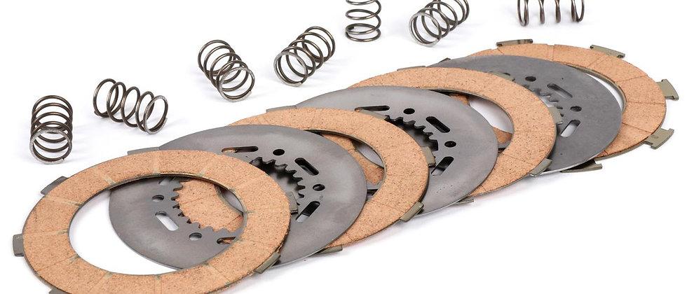 Kit 7 dischi frizione rinforzata 6 molle Vespa PE PX GT TS SUPER 125 150
