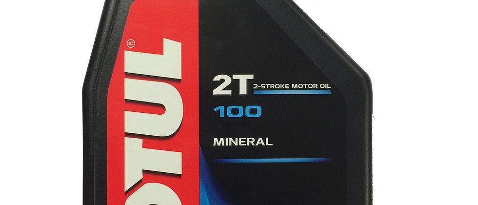 Olio motul 100 2T minerale