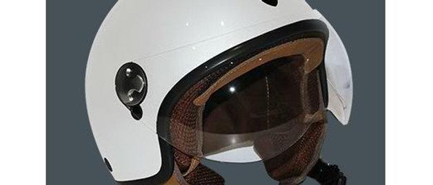 Casco Helmo bianco taglia XL