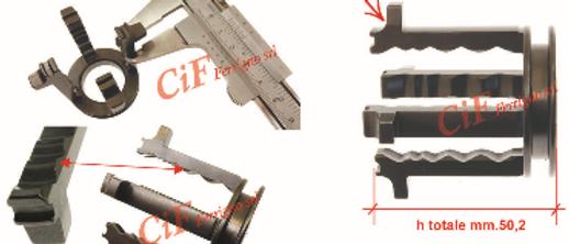 Crocera cambio 50.2mm Vespa 50 Special 125ET3 PK - APE 50