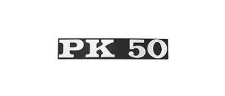 Targhetta laterale Vespa PK50