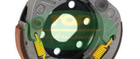 Frizione alleggerita scooter 50 tutti i tipi con campana d.107