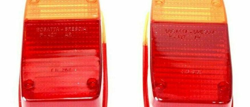 Coppia plastiche stop posteriori Ape 601 - 501