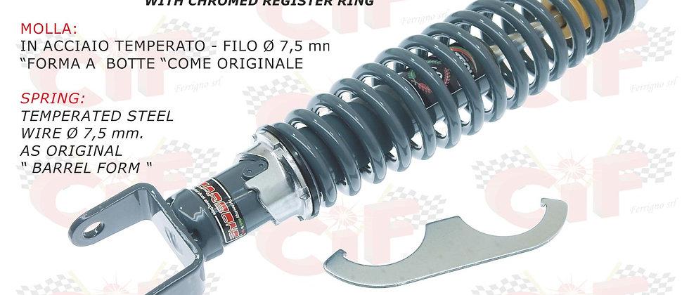 Ammortizzatore posteriore Carbone grigio Vespa 50-90-125 ET3