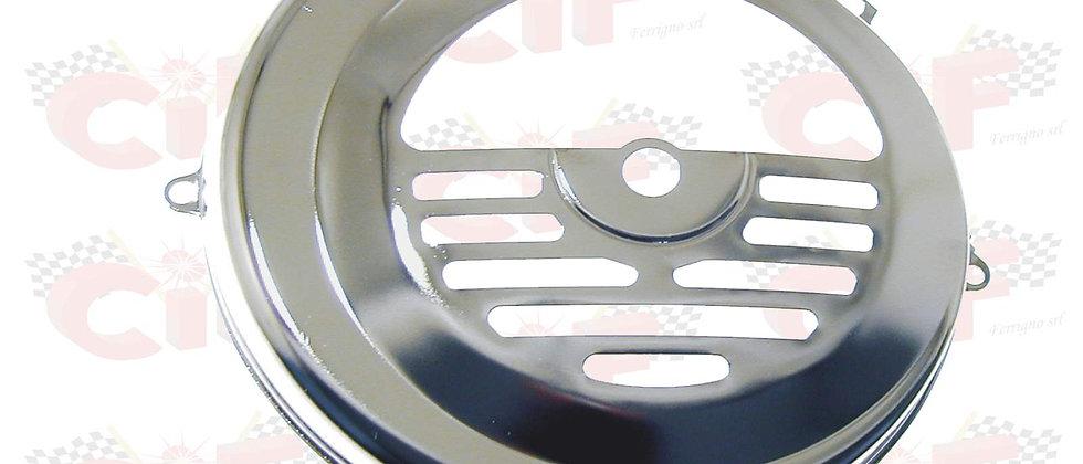Coperchio copri volano cromato Vespa 50-90-125 ET3