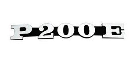 """Targhetta laterale Vespa PX """"P200E"""""""