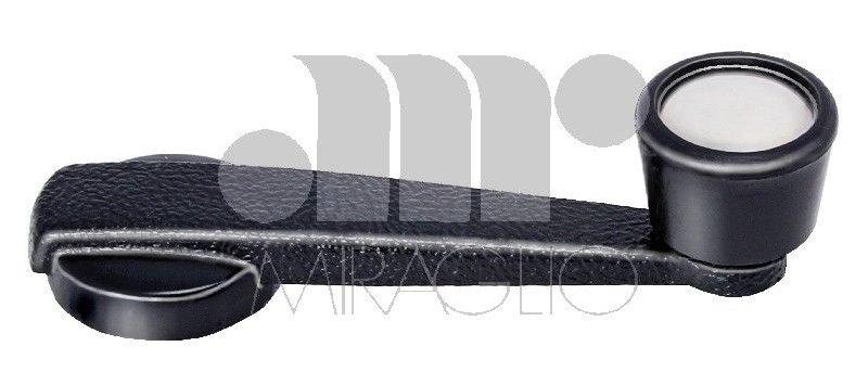 Maniglia alzavetro nera Fiat 500-127-128TT