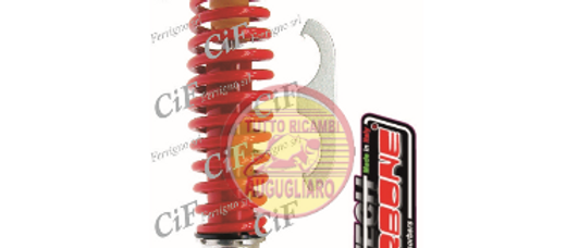 Ammortizzatore posteriore rosso regolabile Vespa 50-90-125 ET3 - PX