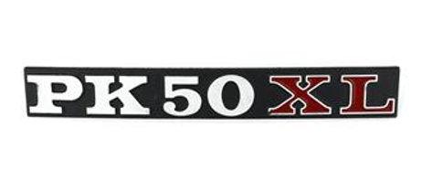 Targhetta tasca laterale Vespa PK 50 XL