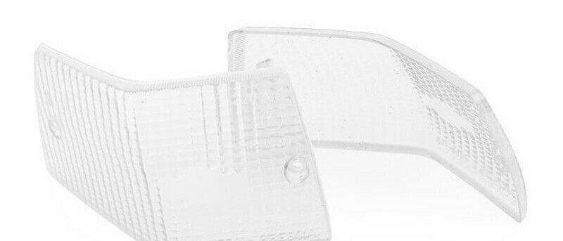 Coppie plastiche bianche frecce posteriori Vespa PX 125 150 200