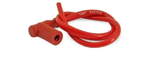Cavo pipetta candela racing rosso in silicone