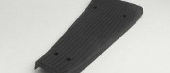 Tappeto centrale rigido nero Vespa PX 125-150-200 LML