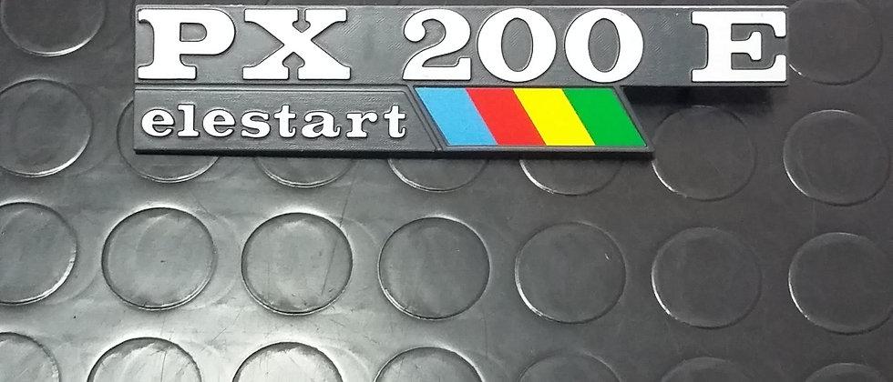 "Targhetta ""PX200E Elestart"""