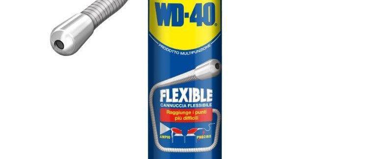 WD-40 supersbloccante lubrificante con tubo flessibile 600ml