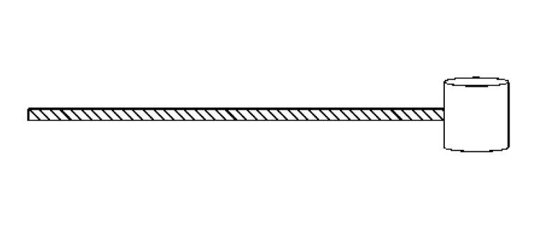 Cavo frizione/freno anteriore tipo svedese Vespa
