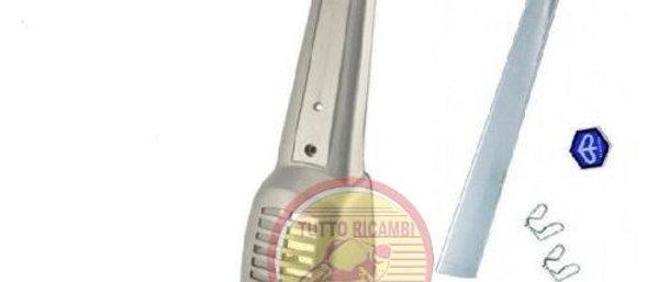 Mascherina copriclacson grigia con modanatura Vespa 50 Special