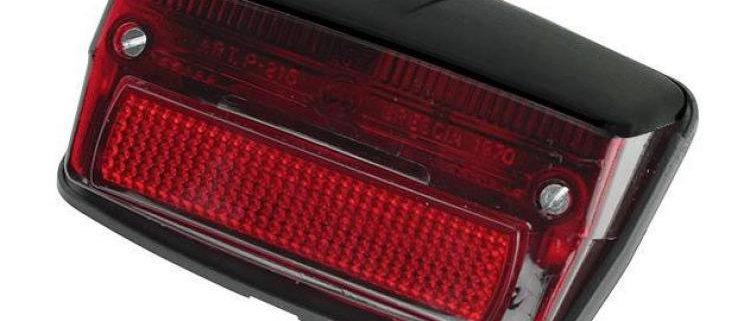 Fanale stop posteriore rosso tettuccio nero Vespa 50 Special