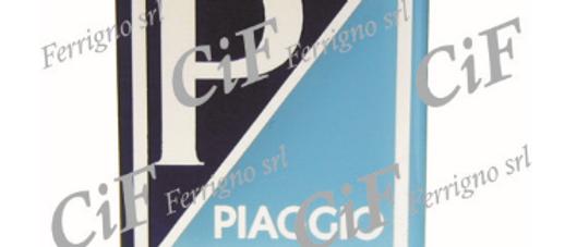 Adesivo resinato Piaggio Vespa vecchi modelli