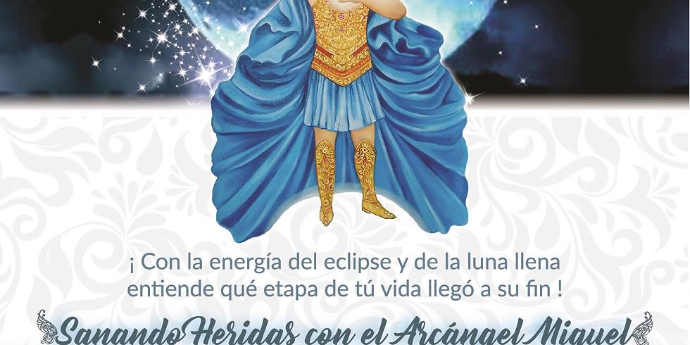 Meditación Eclipse Sanando Heridas con el Arcángel Miguel