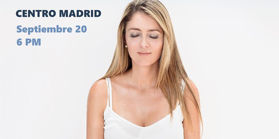 Curso Aprender a Meditar con Ángeles- MADRID- ESPAÑA