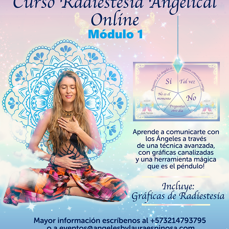 Curso Radiestesia Angelical Online- Módulo 1