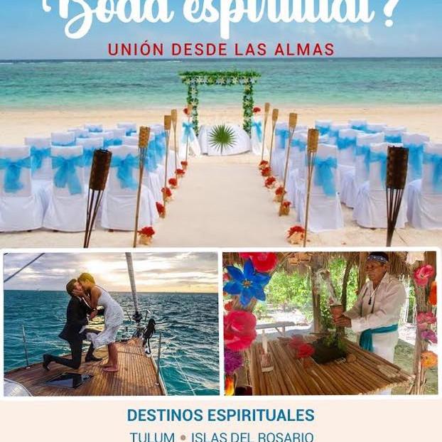 Quieres una Boda Espiritual? ANGELICAL- MAYA- AZTECA