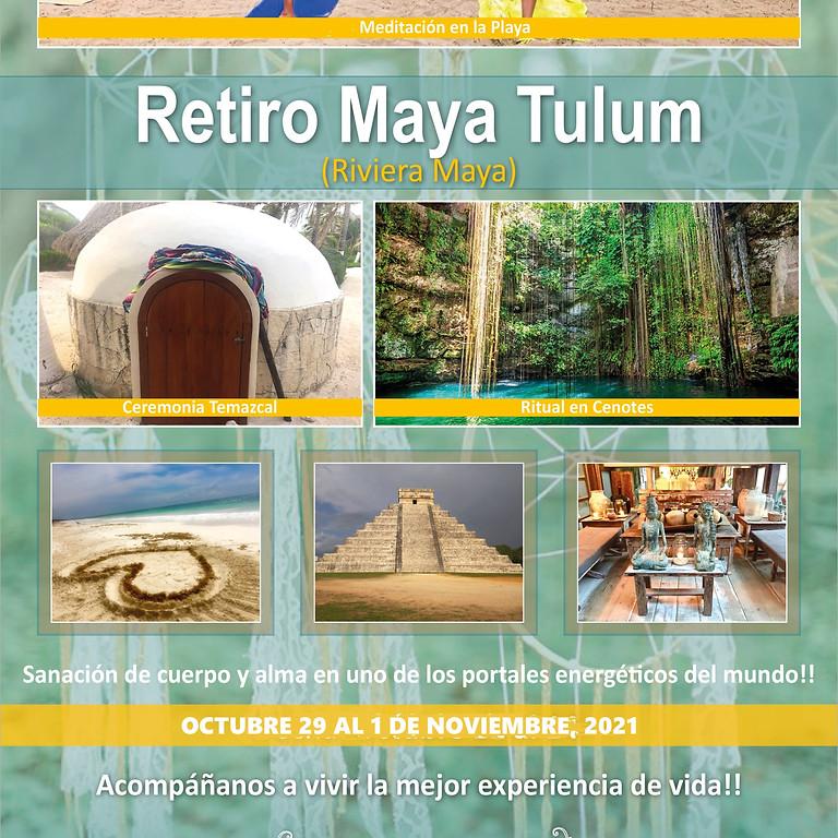Retiro Ruta Maya Tulum- Meditación- Sanación Ancestral - Día de Muertos