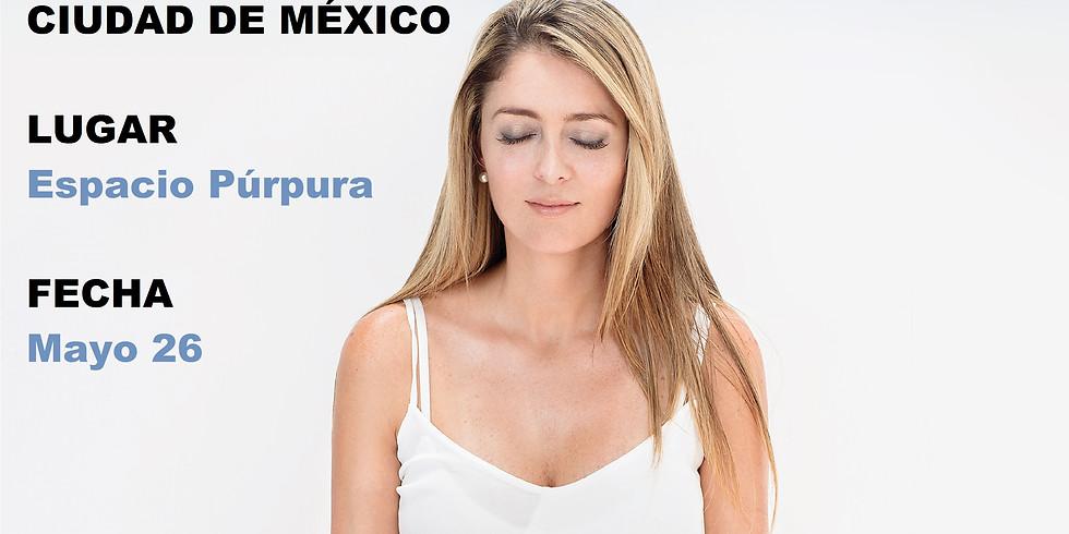 CURSO CERTIFICADO CDMX MEDITACIÓN CON ÁNGELES Mayo 26