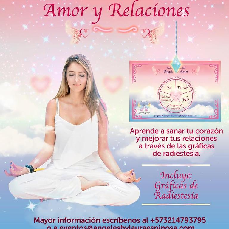 Curso Radiestesia Angelical Amor y Relaciones- MADRID- ESPAÑA