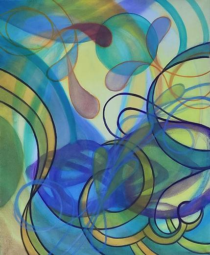Tomorrow, Nicole Asay, oil on canvas, 36